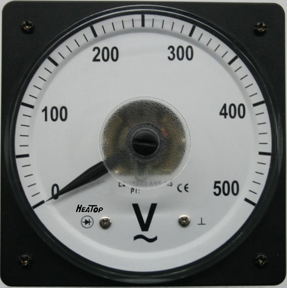 Marine Type Pointer Analog Voltmeter