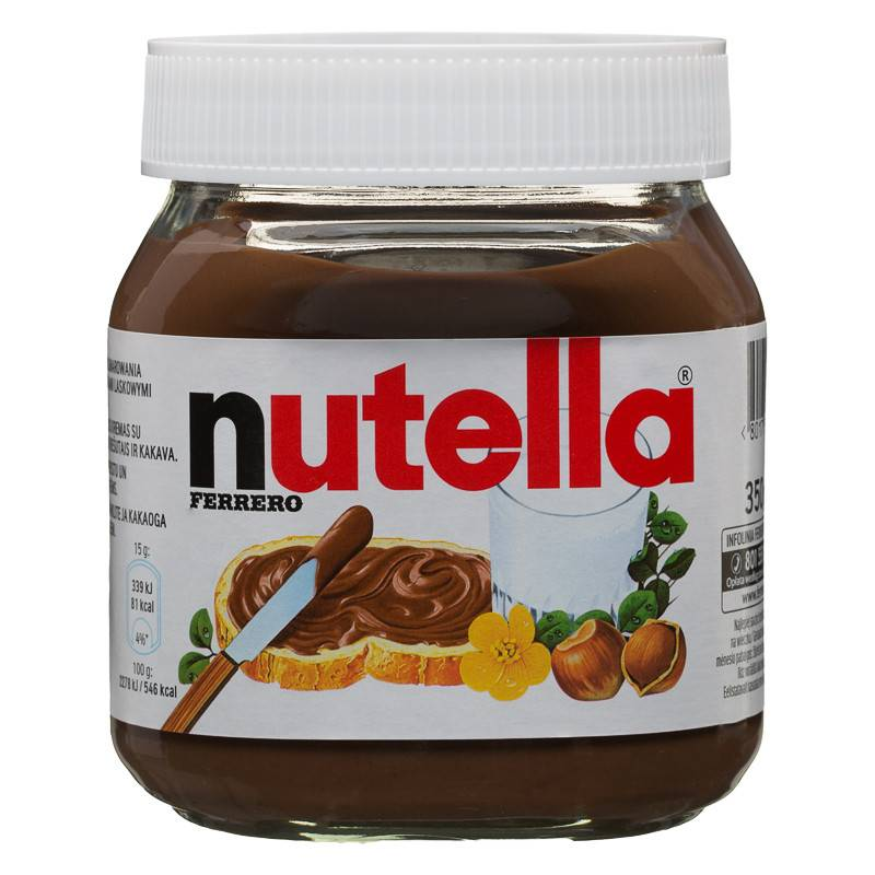 Ferrero Nutella Chocolate Cream 350g 400g 600g 750g 800g with Multi Language text available Add to M
