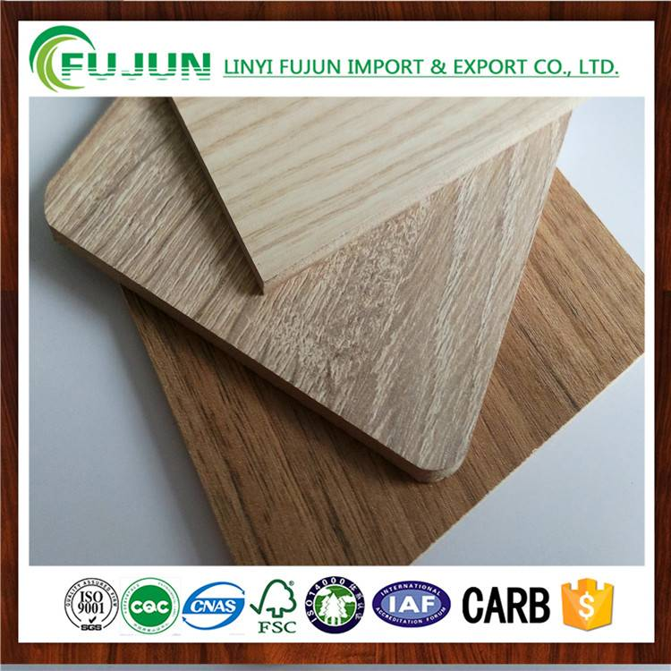 2016 hot sale melamine MDF for wood furniture