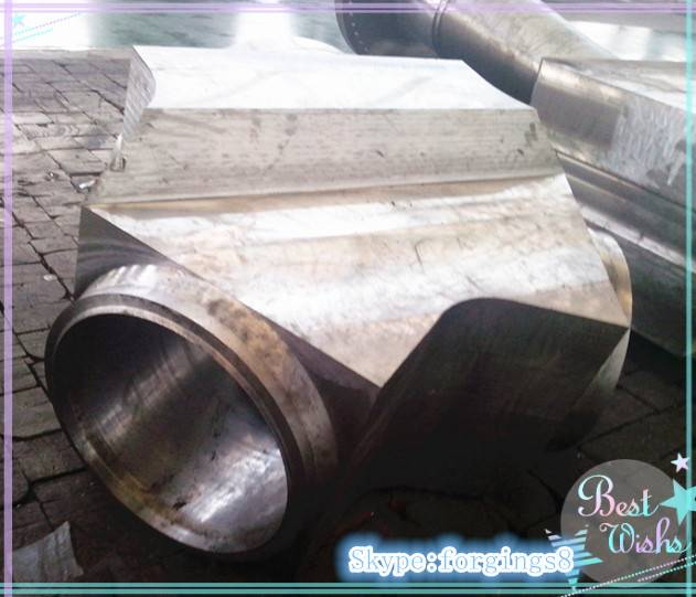 P91 Super High Pressure Large Forged T Piece