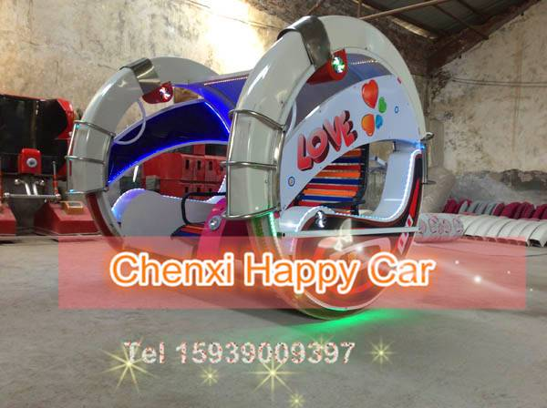 Selling Le Bar Car Amusement Ride 360degree Running for Theme Park
