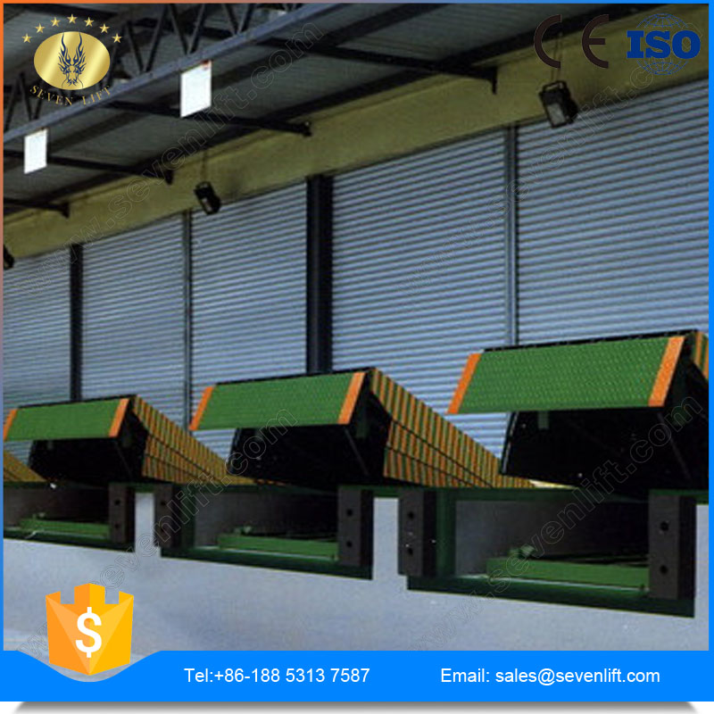7LGQ Shandong SevenLift stationary steel heavy load electric easy operation hydraulic dock leveler