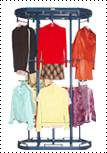 rotating clothes rack