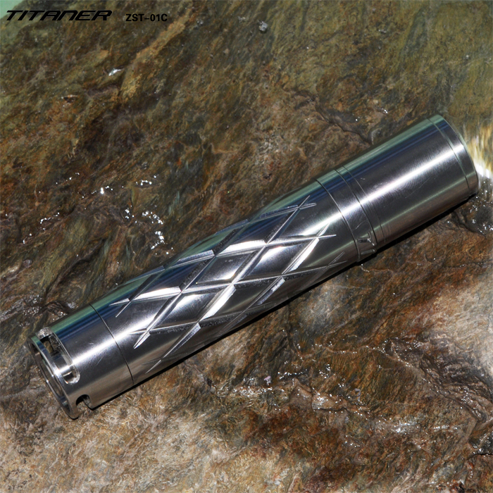 Premium Quality Customized Promotional Titanium LED Flashlights Torches Gifts