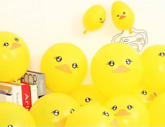 Rubber Duck ballons