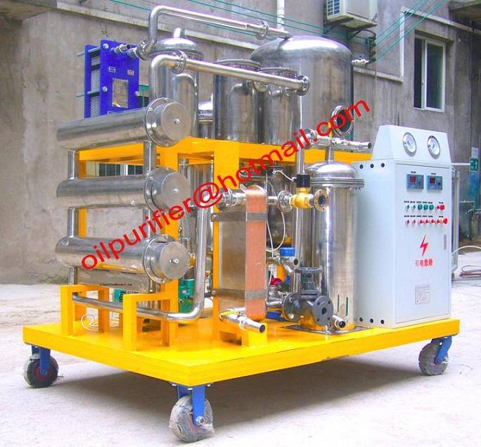 New Sale Hydraulic Oil Treatment Plant,Hydraulic Oil Recycling Machine with Stainless Steel Material