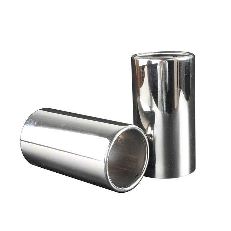 Stainless steel Exhaust Pipe Tips for Toyota Innova / Fortuner