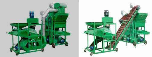peanut cleaning and shelling machine 0086-15890067264