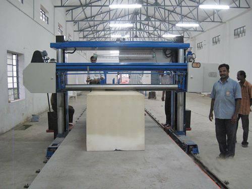Long Sheet Horizontal Foam Cutting Machine