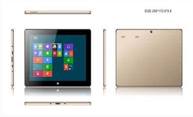 10.1 inch Tablet pc with windows OS