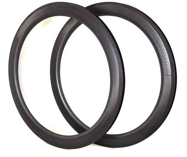 700c bicycle dimple carbon rim 45mm tubular type