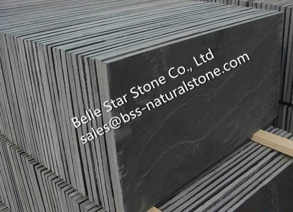 Black slate floor tiles,slate paving stone