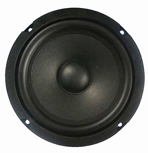 LS166W-2 6.5 inch subwoofer/ 20W 3ohm/ aluminum voice coil/ rubber edge woofer