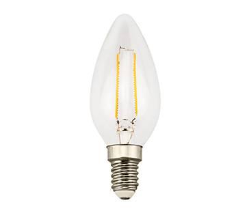 2W LED Candle bulb 2000K