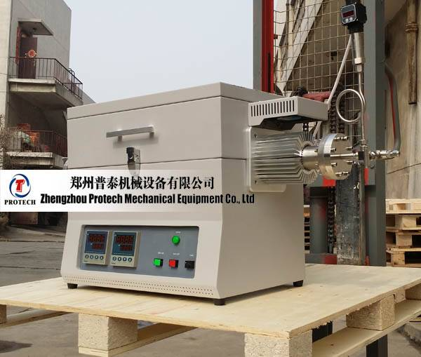 Protech high pressure high temperature tube furnace with max. pressure 20MPa