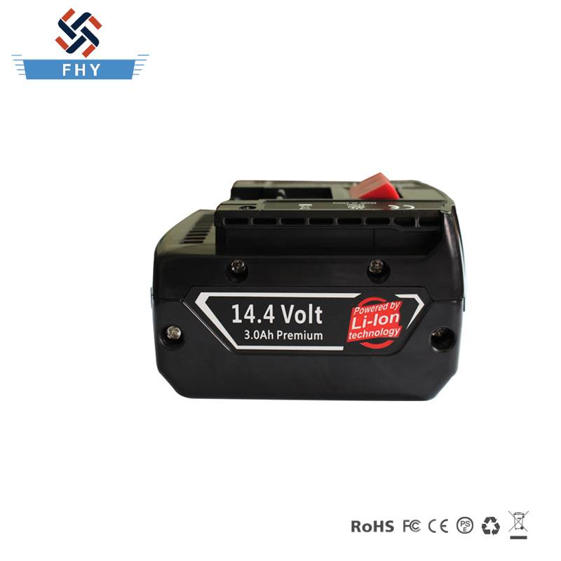 14.4V 4000mAh Li-ion Power Tool Battery Replacement for Bosch