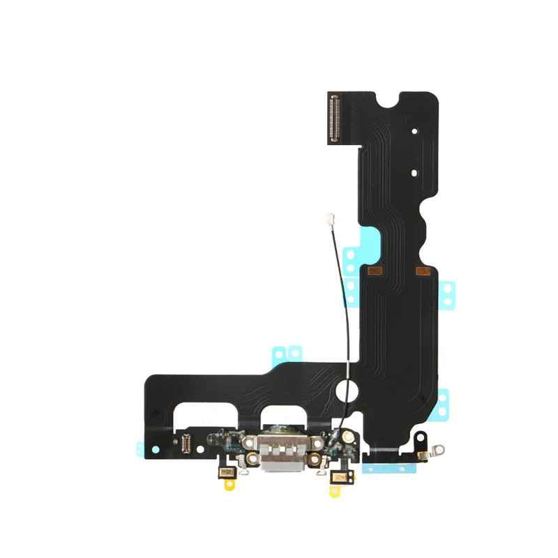 For Apple iPhone 7 Plus Charging Port Flex Cable Ribbon Replacement - White