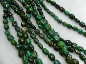 turquoise beads\semi-precious stones\fashion jewelry