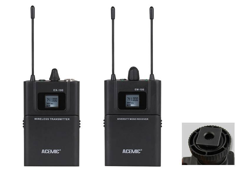 ACEMIC Wireless Microphone DV-100