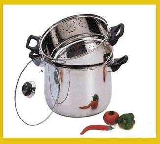 couscous pot rice steamer