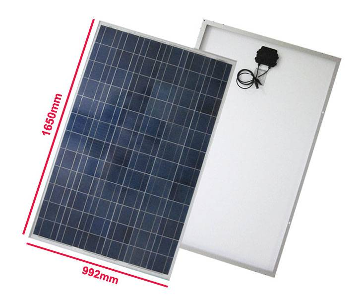 Poly Solar Panels&Solar Modules with TUV/IEC/MCS/UL