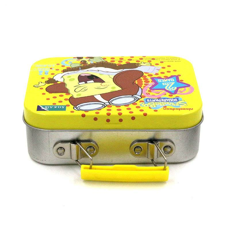 Small tin lunch box
