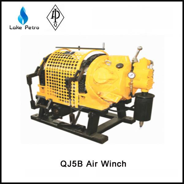 High quality QJ5B Air Winch in oilfield