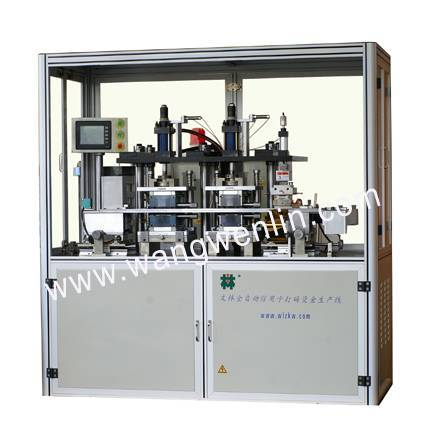 WL-EG-A Full automatic embossing and tipping machine