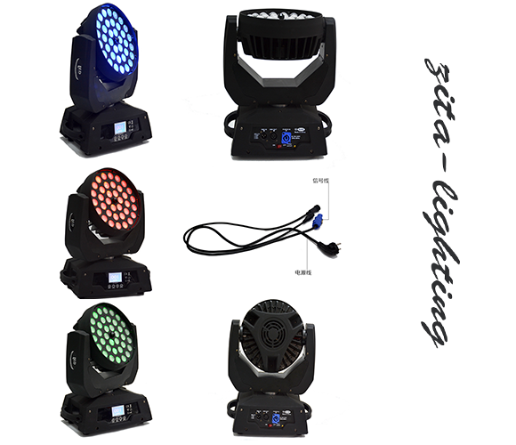 36x10W led zoom moving head light