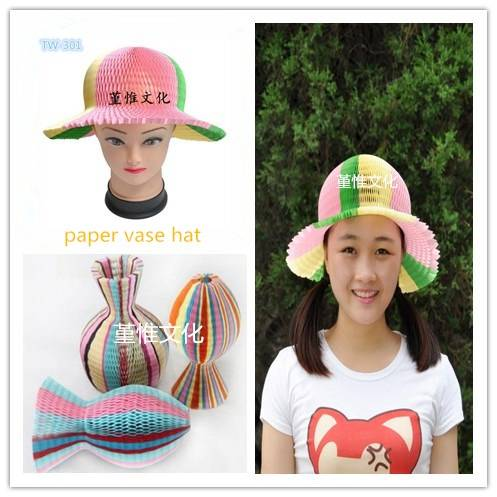 Colorful Paper Hat Fun and Incredible for Party, Promotion, Christmas and Birthday Multicolors