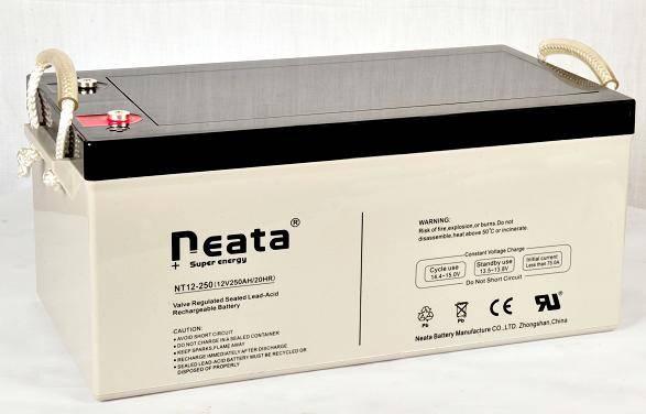 Nuclear powe hydropower battery 12V250Ah (ISO,CE,UL,ROHS,REACH)