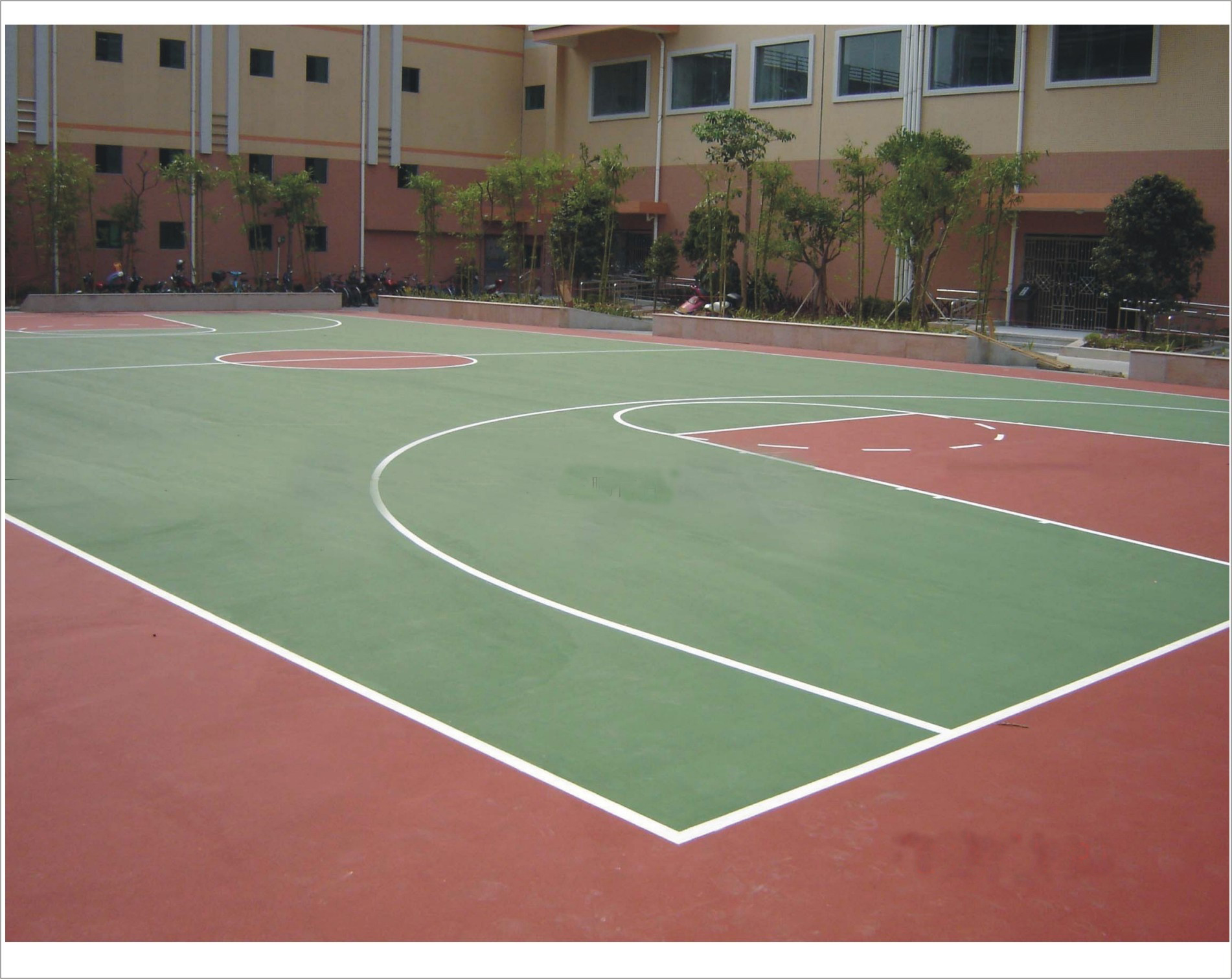 RoHS approved Silicon Polyurethane binder for basketball sport court ground