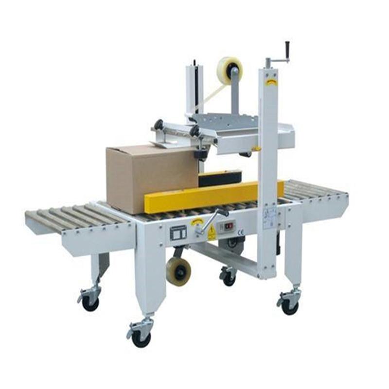 Carton box sealing machine / carton box packing machine / carton box gluing machine
