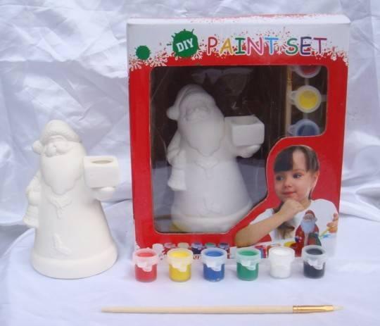 Ceramic Xmas DIY set