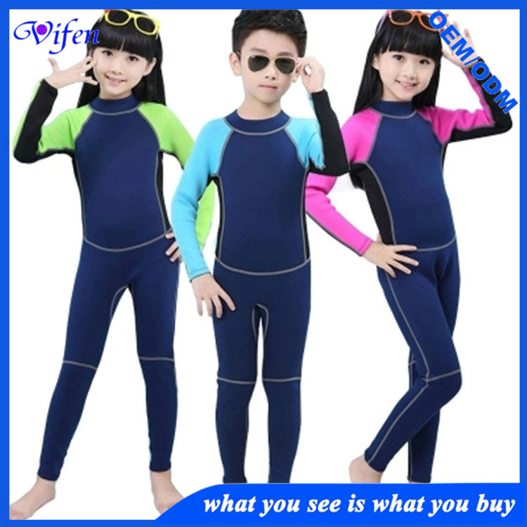 neoprene wet suits fashion style one-piece back zipper swim surfing wetsuit OEM services