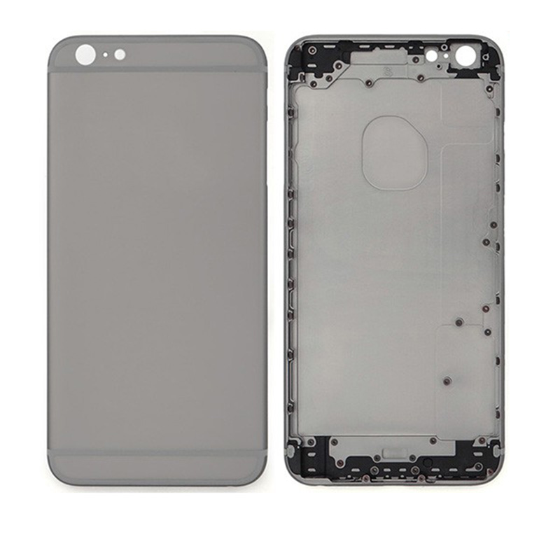 For iPhone 6 Plus Back Housing Only Back Cover - Gray