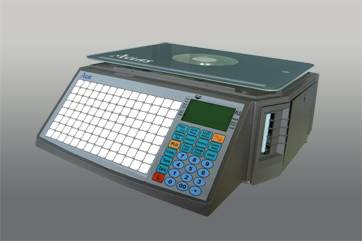 LS2XN label printing scale