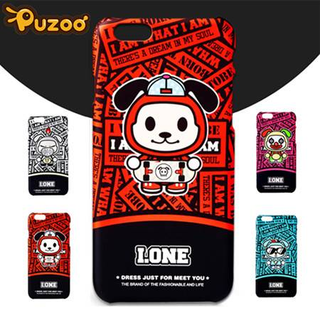 Puzoo New Luxury PC Cover for iPhone 6 s Plus 4.7' 5.5' protective cover