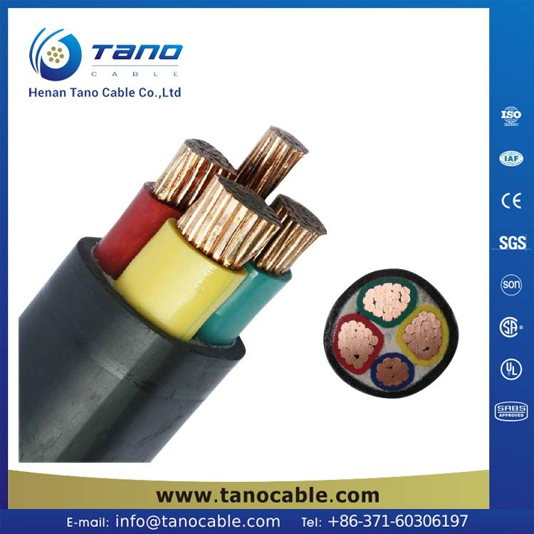 600/1000V, PVC Insulated LV Power Cable