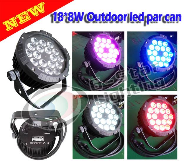 Flat 188W(4in1) outdoor led par can