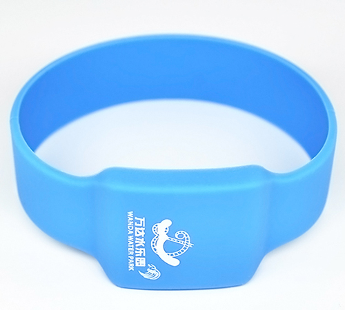 RFID silicone wristband tag(ZT-CT-160830-11)