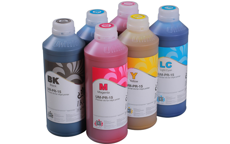 Super fluent qualified and cheap UU- Eco solvent ink for Epson DX5 DX7