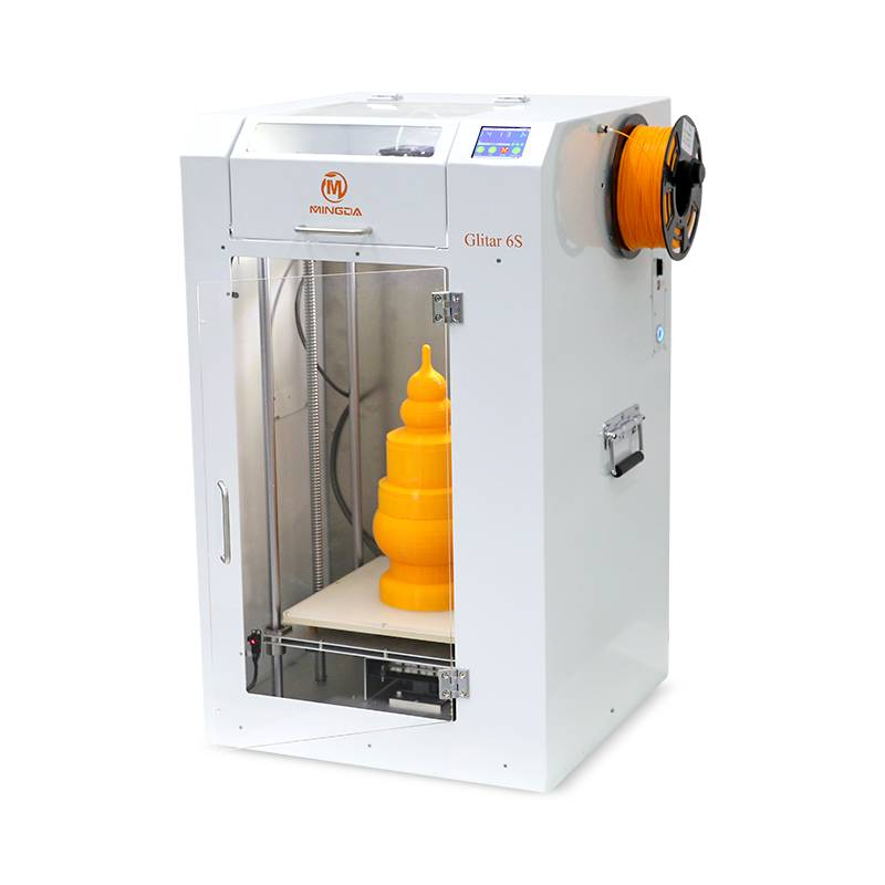 China Suppliers MINGDA Glitar 6S 3d printer for sale (Printing size 300*300*600mm)