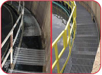 FRP PULTRUDED GRATING WITH SMOOTH SURFACE