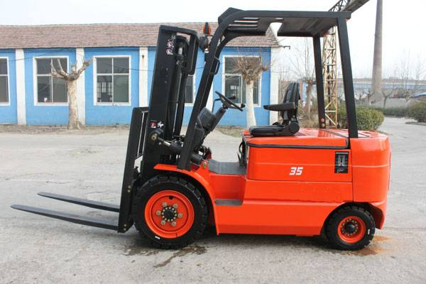 2016 new model China 3.5t electric forklift