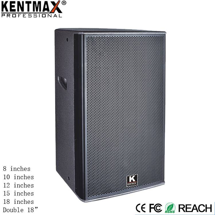 Import Material Kentmax Brand Power Karaoke Disco Club Speakers