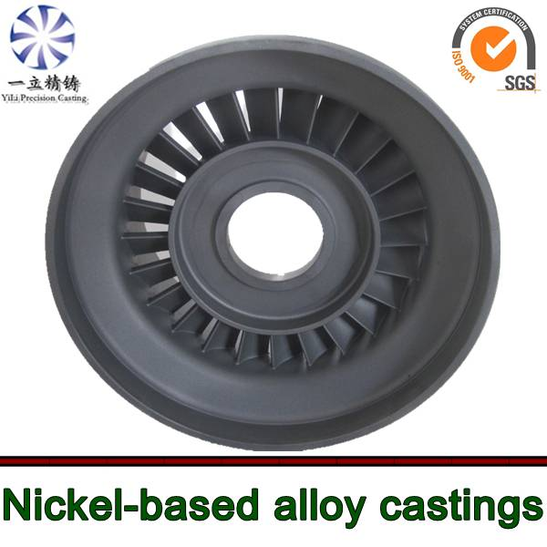 turbo spare parts nickel base alloy vacuum casting for outboard motor nozzle guide vanes