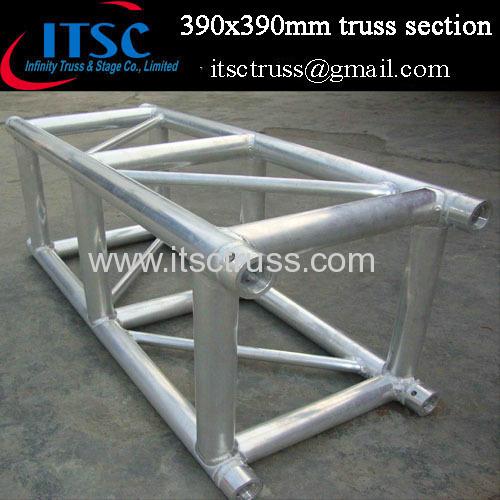 390X390mm lighting truss section