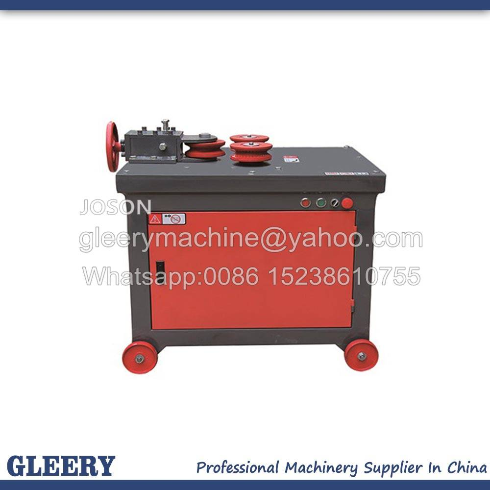 GWH-24/32/40 Flat Steel/ Rectangle Pipe/Rebar Arc Circle Bending Machine