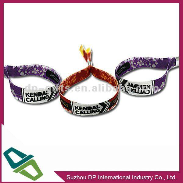 Custom fabric wristband for party and festival
